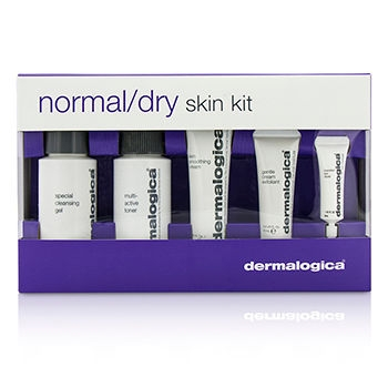 Normal/ Dry Skin Kit: Cleanser + Toner + Smoothing Cream + Exfoliant + Eye Reapir5pcs