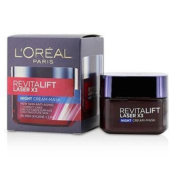 Revitalift Laser x3 New Skin Anti-Aging Night Cream-Mask50ml/1.7oz