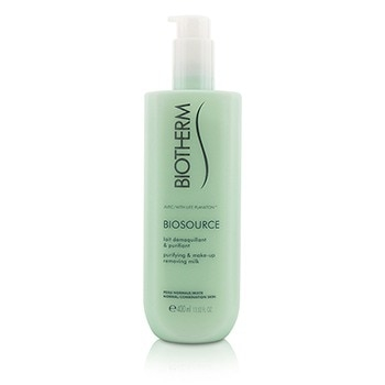 Biosource Purifying & Make-Up Removing Milk - For Normal/Combination Skin400ml/13.52oz