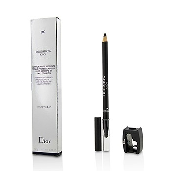Diorshow Khol Pencil Waterproof With Sharpener - # 099 Black Khol1.4g/0.04oz