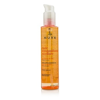Huile Demaquillante Micellaire Micellar Cleansing Oil With Rose Petal For Face & Eyes (Sensitive Skin)150ml/5oz