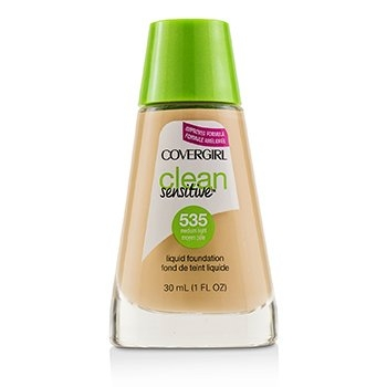Clean Sensitive Liquid Foundation - # 535 Medium Light30ml/1oz