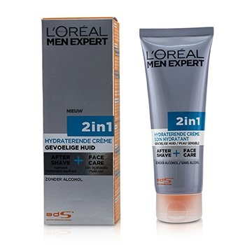 Men Expert Face Creme 2-in-1 After Shave + Face Care75ml/2.5oz