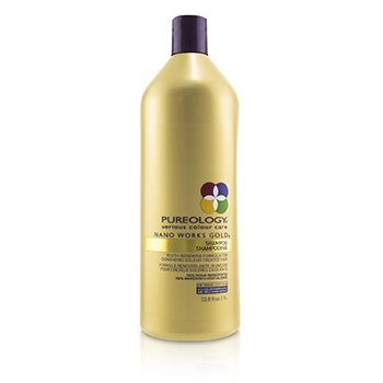 Nano Works Gold Shampoo (Youth-Renewing Formula For Demanding Colour-Treated Hair)1000ml/33.8oz